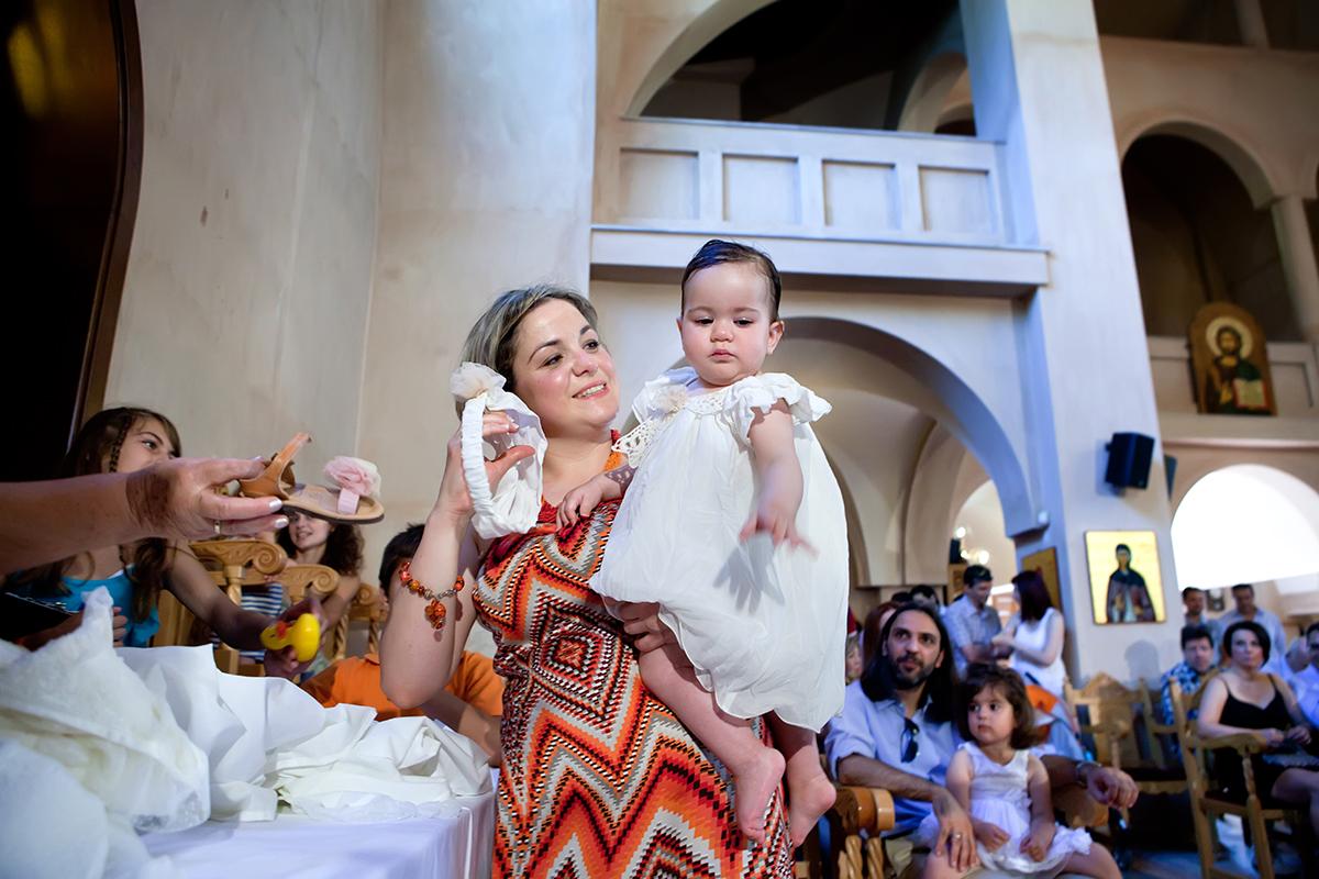 φωτογράφηση βάπτισης στο Πανόραμα της Θεσσαλονίκης .