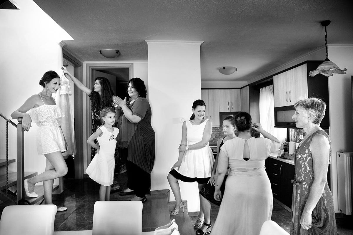 Ο γάμος της Ναυσικάς και του Σάββα. Φωτογράφιση γάμου.προετοιμασία της νύφης.
