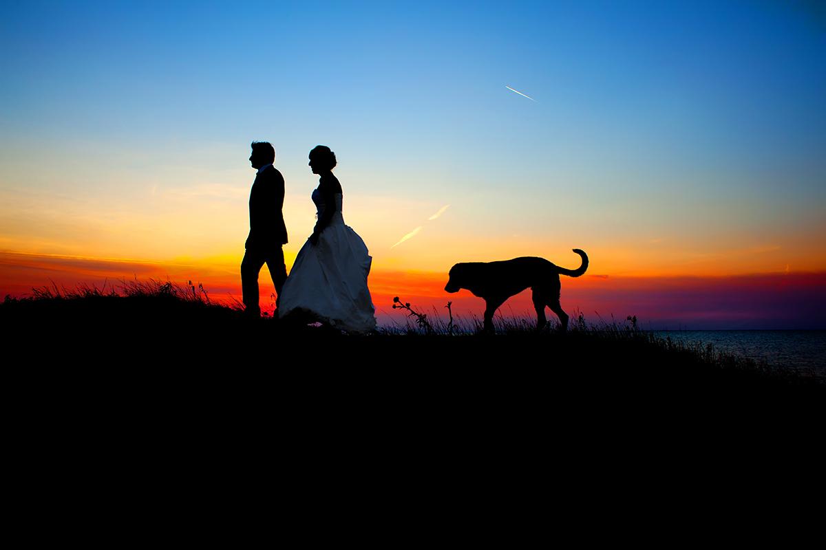 φωτογράφος γάμου Θεσσαλονίκης.Εξωτερική φωτογράφιση.Ηλιοβασίλεμα